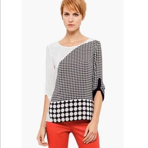 Akris Punto silk blouse